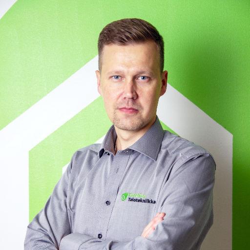 Antti Heiskanen toimitusjohtaja